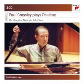 Album artwork for PAUL CROSSLEY PLAYS POULENC