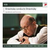 Album artwork for STRAVINSKY CONDUCTS STRAVINSKY