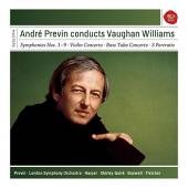 Album artwork for Andre Previn Conducts Vaughan Williams