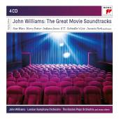 Album artwork for JOHN WILLIAMS: THE GREAT MOVIE SOUNDTRACKS