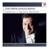 Album artwork for Zubin Mehta Conducts Brahms
