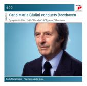 Album artwork for Carlo Maria Giulini Conducts Beethoven