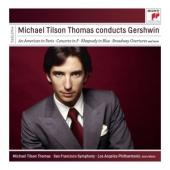 Album artwork for Michael Tilson Thomas Conducts Gershwin
