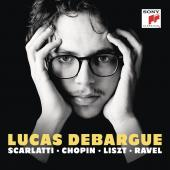 Album artwork for Debargue plays Scarlatti, Ravel, Chopin, Liszt