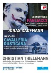 Album artwork for I Pagliacci / Cavalleria Rusticana (Kaufmann)
