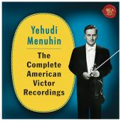 Album artwork for Menuhin -The Complete American Victor Recordings