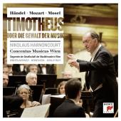 Album artwork for Handel/Mozart: Timotheus, Mozart's Alexander's F