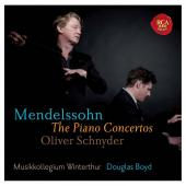 Album artwork for Mendelssohn: Piano Concertos / Schnyder, Boyd