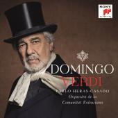 Album artwork for Verdi: Baritone Arias - Domingo