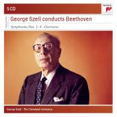 Album artwork for Szell Conducts Beethoven Symphonies & Overtures