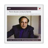 Album artwork for Pierre Boulez Conducts Bartók