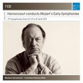 Album artwork for Nikolaus Harnoncourt Conducts Mozart Early Symphon