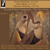 Album artwork for Jewish Polish Composers: The Survivors