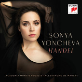 Album artwork for Handel Arias / Sonya Yoncheva