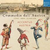 Album artwork for Commedia dell'Austria - Conti, Biber, Schmelzer