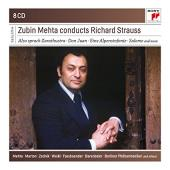 Album artwork for MEHTA CONDUCTS STRAUSS