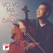 Album artwork for YO-YO MA PLAYS BACH