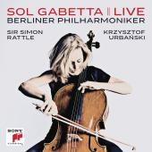 Album artwork for Sol Gabetta - Live / Berlin Philharmonic / Rattle