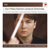 Album artwork for SALONEN CONDUCTS STRAVINSKY