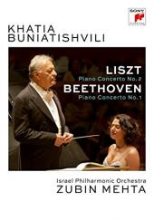 Album artwork for Liszt & Beethoven Piano Concertos (DVD)