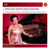 Album artwork for DE LARROCHA PLAYS GRANADOS