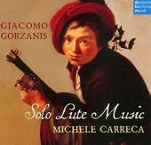 Album artwork for Gorzanis: Solo Lute Music / Carreca