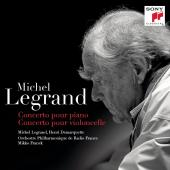 Album artwork for Michel Legrand: Piano & Cello Concertos