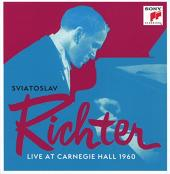 Album artwork for LIVE AT CARNEGIE HALL 1960 / Richter