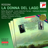 Album artwork for LA DONNA DEL LAGO