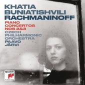 Album artwork for Rachmaninov: Piano Concertos 2 & 3 / Buniatishvili