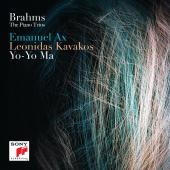 Album artwork for Brahms: Piano Trios / Ax, Ma, Kavakos