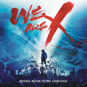 Album artwork for WE ARE X SOUNDTRACK
