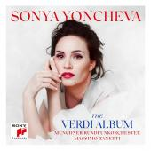 Album artwork for The Verdi Album / Sonya Yoncheva
