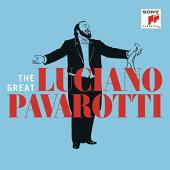 Album artwork for The Great Luciano Pavarotti (3-CD set)