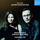 Album artwork for Bach - Small Gifts (Andreas Scholl - Ensemble 1700