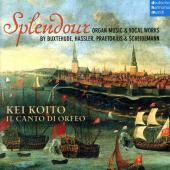 Album artwork for Splendour - German Baroque musi for Organ & Voice