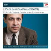 Album artwork for PIerre Boulez Conducts Stravinsky