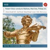 Album artwork for Robert Stolz conducts Waltzes, Marches, Polkas