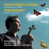 Album artwork for The Butterfly Lovers, Concerto for Violin (Shaham)
