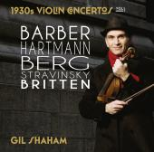 Album artwork for GIL SHAHAM: 1930s Violin Concertos, Vol. 1