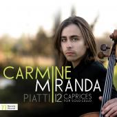 Album artwork for Piatti: 12 Caprices Solo Cello / Miranda
