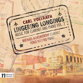Album artwork for Carl Vollrath: Listening Longings – Music for Cl