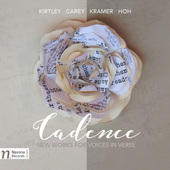 Album artwork for Cadence: New Works for Voices in Verse