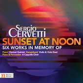 Album artwork for Sergio Cervetti: Sunset at Noon