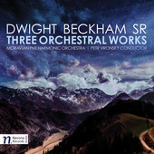 Album artwork for Dwight Beckham: Three Orchestral Works