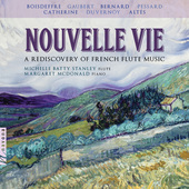 Album artwork for Nouvelle Vie: A Rediscovery of French Flute Music