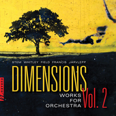 Album artwork for Dimensions, Vol. 2 - Works for Orchestra