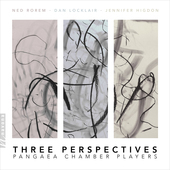 Album artwork for Pangaea Chamber Players: Three Perspectives