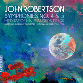 Album artwork for Robertson, J.: Symphonies No. 4 & 5