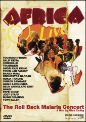 Album artwork for AFRICA LIVE AT THE ROLL BACK MALARIA CONCERT